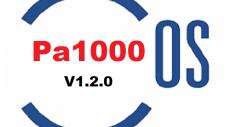 سیستم عامل کیبورد | Pa1000/OS V1.2.0