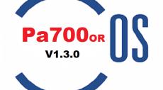 سیستم عامل کیبورد | Pa700/OS V1.3.0