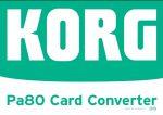 نرم افزار تبدیل ریتم | ۱٫۱۰ KORG Pa80 Card Converter