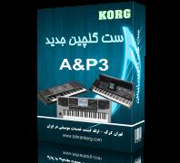 ست گلچین ایرانی | KORG A&P3